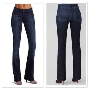 7 for all Mankind high waist Bootcut jeans denim